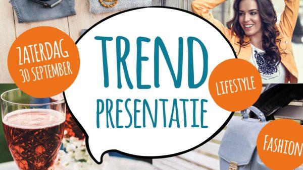 Trendpresentatie in de Rijnstraat