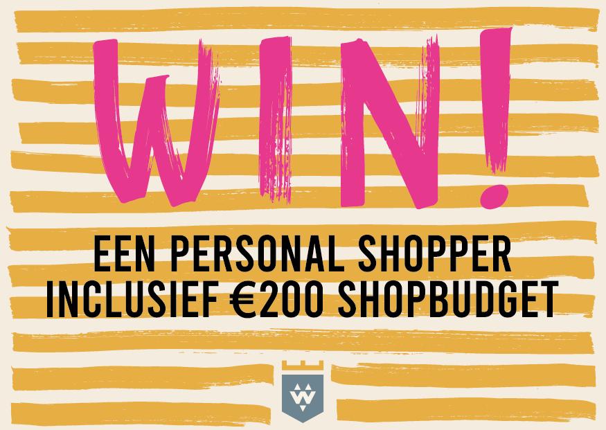 Win een personal shopper!