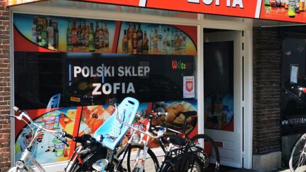 Poolse supermarkt Polski Sklep Zofia