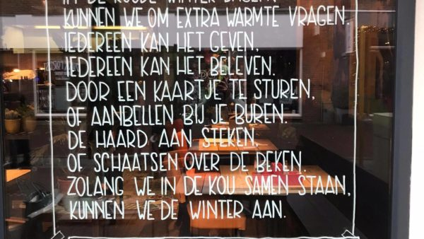 Uniek in Nederland: Adventsramen