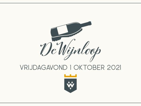 Vrijdag 1 oktober: De Wijnloop