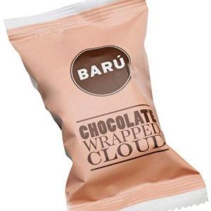 BARU ambachtelijk marshmallow - doosje van 4 - melkchocola zeezout karamel